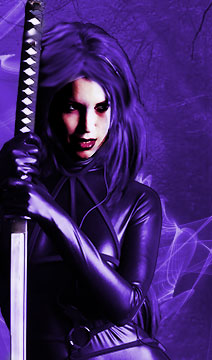 Violet Vampire Photo Manipulation
