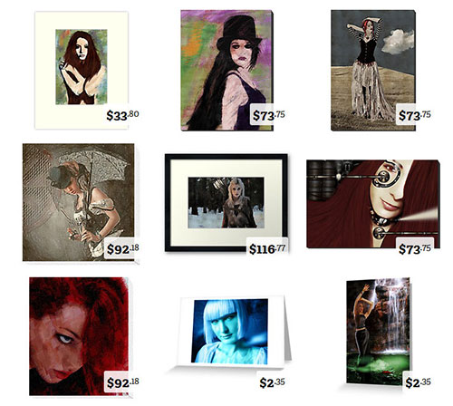 March Featured Digital Art on Sale