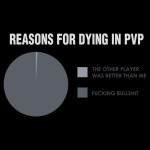 Reasons for Dying in PVP T-Shirt