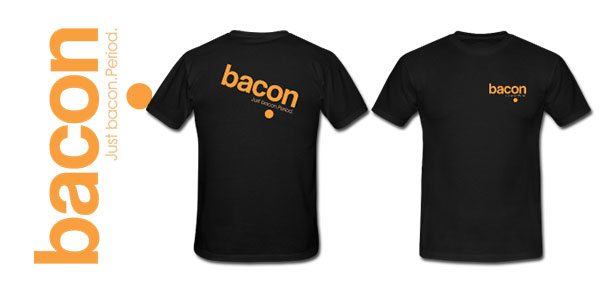 Bacon t-shirt for sale